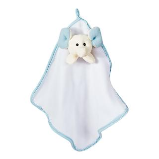Naninhas Malha   Soft Elefantinho Dumbo Branco